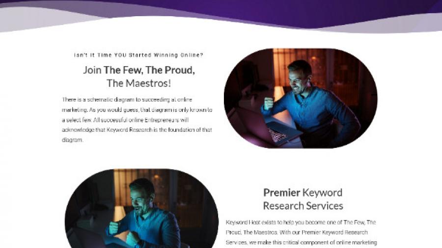 KeywordHeat Sales Page
