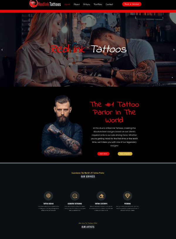 Red Ink Tattoos