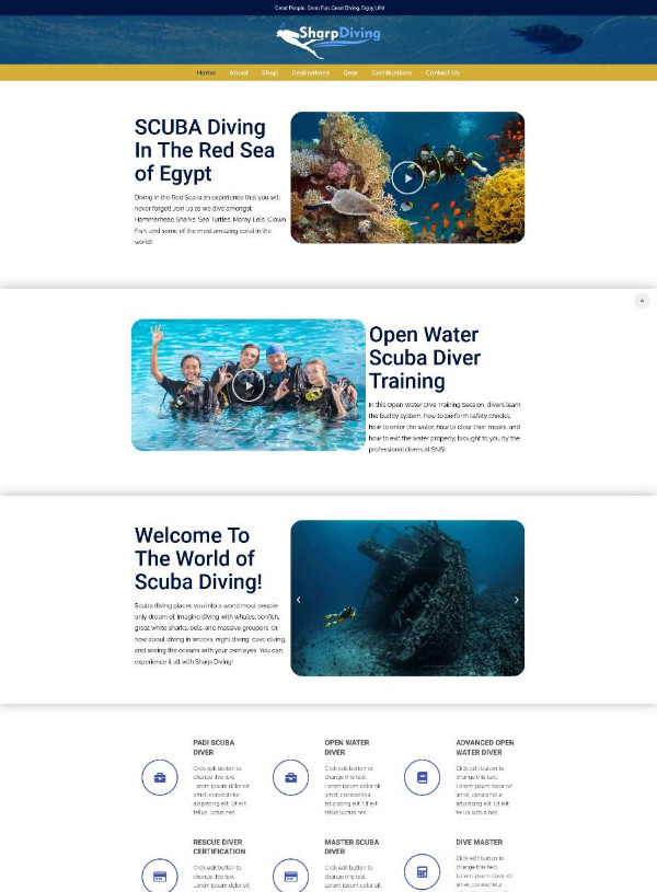 Scuba - Products, Training, Trips